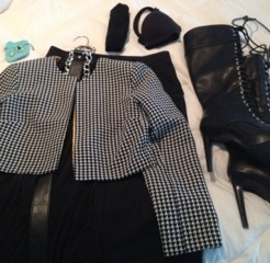 Lay out each outfit with all the necessary pieces. Look for opportunities to mix and match and eliminate redundancy.
