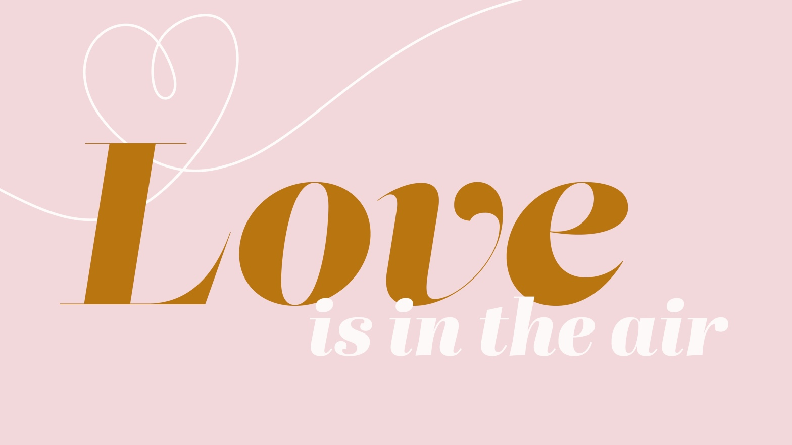 Love is in the Air Valentine's Day Graphic COVID Cupid Valentine